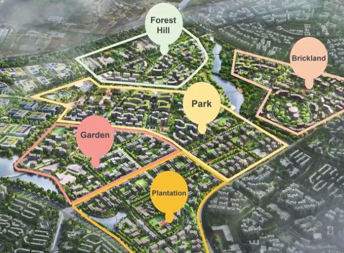 Tengah EC Location at Tengah Town Map