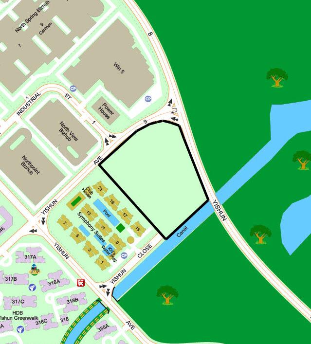Yishun Avenue 9 EC Location
